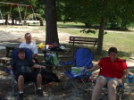 Leonhard Family enjoying the picnic