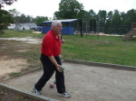 Jerry Santoro PGK playing Bocce